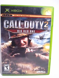 Xbox Call of Duty 2 Big Red One Video Game Complete | eBay