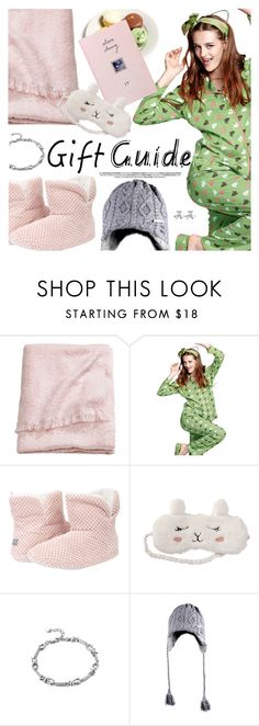 """""""Gift Guide: Besties"""" by metisu-fashion ❤ liked on Polyvore featuring H&M, P.J. Salvage, besties, polyvoreeditorial and polyvoreset"""