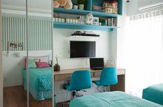 quarto de menina - girl´s room - decoração - quarto - interior design - Florense - Saporito Engenharia - Js Marcenaria - Studio 021 Arquitetura