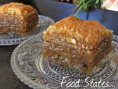 Μπακλαβάς - Food States Greek Sweets, Greek Recipes, Sweet Desserts, Amazing Cakes, French Toast, Breakfast, Blog, Greek Beauty, Coca Cola