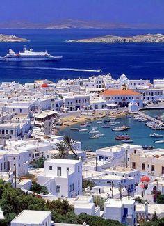 Mykonos, Greece.  Mo