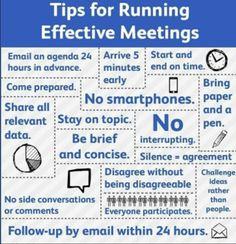 Suggerimenti per le riunioni #business #meetings