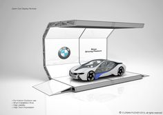 BMW - modular exhibition concept on Behance