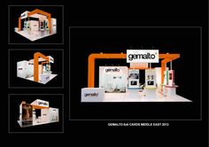 Gemalto Middl East @ Cards Middle East 2013: Exhibition Stand Design and Build