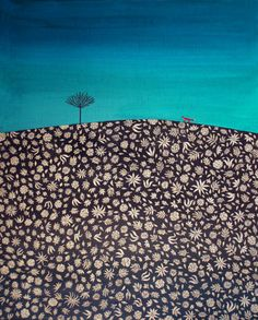 Colorful dreamscapes by Shirin Sahba, on the blog today: http://www.artisticmoods.com/shirin-sahba/