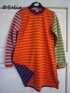 Selia: Lisää Monia raitoja -vaatetta
