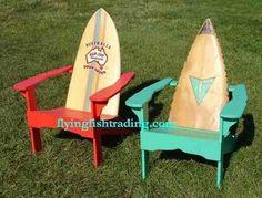 Reciclaje, sillas y mesas hechas con tablas de surf - Costasurf