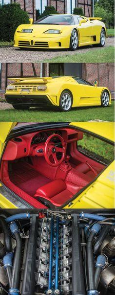 1995 Bugatti EB110 Super Sport #Bugattieb110