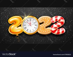 Happy New Year Greetings, New Year Greeting Cards, Happy New Year 2020, Merry Christmas And Happy New Year, Christmas Time, Holiday, Anul Nou, Nouvel An, Foil Balloons