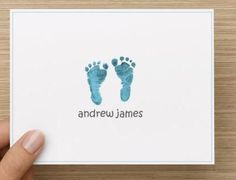 Baby thank you card: Personalized and by RadiantExposures on Etsy