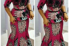 Classy picture collection of Beautiful Ankara Skirt And Blouse Styles These are the most beautiful ankara skirt and blouse trending at the moment. If you must rock anything ankara skirt and blouse styles and design. Trendy Ankara Styles, Ankara Gown Styles, Ankara Gowns, Ankara Dress, Ankara Fabric, Ankara Clothing, African Fabric, African Attire, African Wear