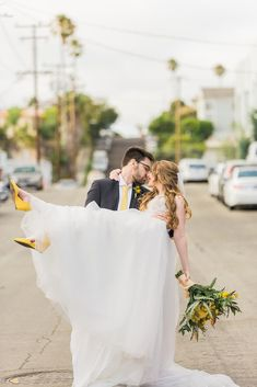 This bride and groom had a blast at their yellow themed wedding in California. We love the pop of seasonal florals for this wedding look! Check out more details from this day on our blog. Spring Wedding Destinations, Destination Wedding Planner, Bride Groom Photos, Alternative Bride, California Wedding Venues, Spring Wedding Inspiration, Outdoor Wedding Venues, Festival Wedding, Wedding Looks