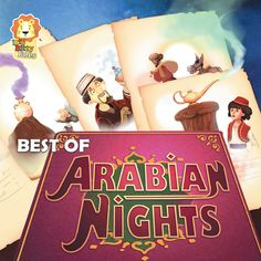 Flying carpets and genii,  And magical secrets untold;   With Aladdin and Alibaba,   Have adventures unfold!