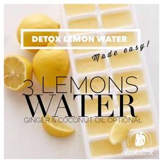It's well known that Warm water with lemon juice is a great way to kick start your metabolism each morning