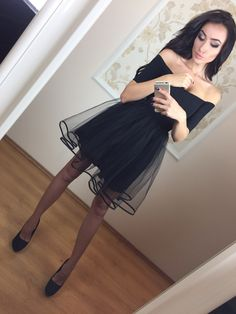 little black dresses, A-line homecoming dresses, off shoulder homecoming dresses, tulle homecoming dresses, short prom dresses. party dresses, formal dresses#SIMIBridal #homecomingdresses