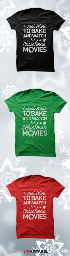 I just want to bake and watch Christmas movies. Buy and two or more items and get free US shipping.