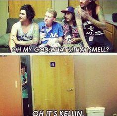 Poor Kellin. Lol