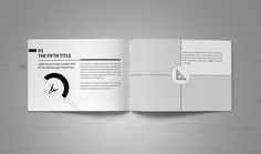 Minimal Modern Black & White Architecture Brochure on Behance
