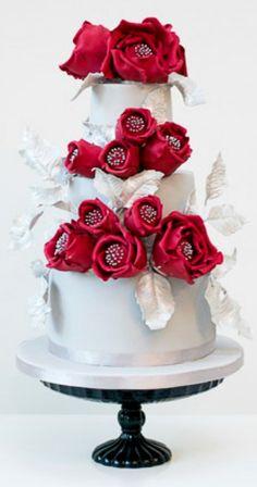Sleeping Beauty Wedding Cake