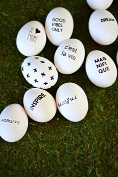 DIY Inspirational #Easter Eggs