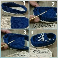Crochet Baby Sneakers by Croby Patterns - Salvabrani - Salvabrani 80 Patrones para hacer zapatitos, botines y zapatillas de bebés en crochet (free patterns crochet sandals babies You will love this Crochet Moccasins Tutorial and we have a free pattern, v Crochet Baby Boots, Crochet Baby Sandals, Knit Baby Booties, Booties Crochet, Crochet Baby Clothes, Newborn Crochet, Crochet Shoes, Crochet Slippers, Crochet Converse