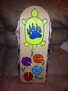 back of completed cradle board Nativity, Native American, Boards, Crochet, Summer, Planks, Summer Time, The Nativity, Native Americans