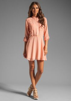 DV by DOLCE VITA Agata Dress in Coral at Revolve Clothing - Free Shipping!