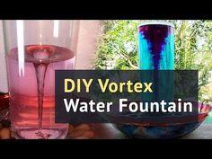 HOMEMADE Tornado | How to make a Vortex Water Fountain - YouTube