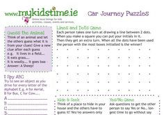 "We all have to do long car journeys from time to time so to help with passing the time and keep the ""are we there yet"" at bay, we've created a cool sheet of car games for kids that you can print out that may help to keep them occupied for a little while during the next one!    Do you have a favourite game to play when travelling? Tell us!"