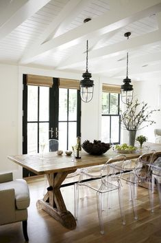 Nice 75 Gorgeous Modern Farmhouse Dining Room Design Ideas https://roomodeling.com/75-gorgeous-modern-farmhouse-dining-room-design-ideas