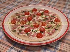 Slaný francouzský koláč Pizza, Bread, Ds, Food, Brot, Essen, Baking, Meals, Breads
