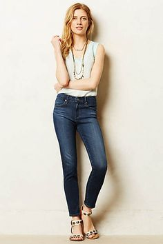 Shop new women's clothing at Anthropologie to discover your next favorite closet staple. Ag Jeans, Skinny Jeans, Anthropologie Clothing, Modern Wardrobe, Best Jeans, High Rise Jeans, Style Me, Summer Outfits, Ankle