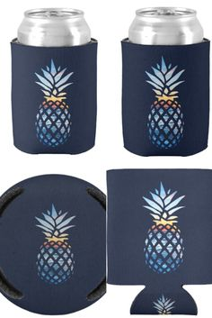 Warm weather.. check, drink.. check, can cooler...definitely! Cool pineapple print can cool to keep your outdoor and indoor party drink staying cool for longer Weather Check, Warm Weather, Beach Bachelorette, Tie Shop, Just Because Gifts, Birthday Gifts For Boyfriend, Pineapple Print, Beach Scenes, Hand Warmers