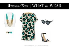what to wear - teen Mommy Style, Style Me, Style Blog, What Should I Wear, What To Wear, Leopard Dress, Matching Outfits, Portrait Photographers, Style Guides