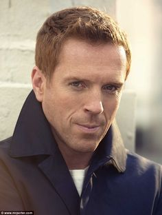 "You may remember Mr. Damien Lewis from HBO's ""Band of Brothers"". This british actor is another of my nominees to play the first ginger Doctor, the next Doctor when Matt Smith leaves (GASP). I quite like this gentleman!"