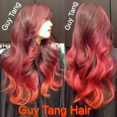 Fire ombré by Guy Tang   Yelp