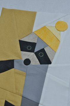 Raccoon Quilt - this would be a great way to do a quilt of Charley Harper work...