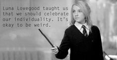 Harry potter books changed the world for so many reasons, here is just what the characters talk us.
