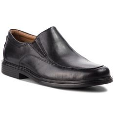 Clarks Un Aldric Walk 261373517 Black Leather ClarksClarks Clarks, Desert Boots Herren, Men Dress, Dress Shoes, Loafers Men, Oxford Shoes, Black Leather, Walking, Trekking