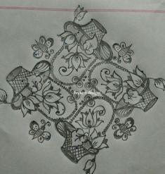 Rangoli Kolam Designs, Rangoli Designs With Dots, Beautiful Rangoli Designs, Flower Rangoli, Pedicures, Floor Design, Paper Quilling, Telugu, Rabbits