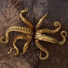 Statement handles. #bronzehandles#design#parchmentcabinet#oceanarmoire#alexanderlamont Alexander Lamont