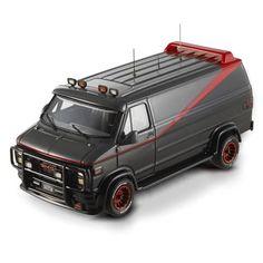 Mr T & the A-Team van.. I was such a boy....LOL (hot wheels) 80's memories..