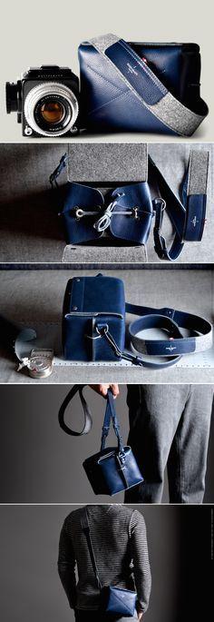 #HardGraft Box Camera Bag / Ocean