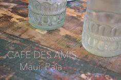 Cafe des Amis - Paia, Maui - マウイのパイアというヒッピータウンにある母ちゃんのお気に入りレストラン・カフェデアミのブログ記事をアップしましたでー! #cafedesamis #cafedesamismaui #mauirestaurant #maui #paia #カフェデアミ #マウイ #マウイレストラン #パイア #かなるマウイ