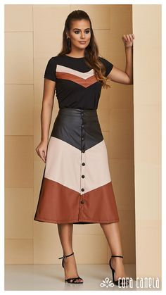 LOOK BOOK 12 – Cora Canela Modest Outfits, Simple Outfits, Skirt Outfits, Classy Outfits, Dress Skirt, Fall Outfits, Casual Dresses, Fashion 2018, Modest Fashion