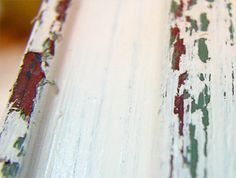 In this tutorial we will be distressing a picture frame. If you're into shabby chic,