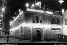 ERICH BART. Vista nocturna del Colegio Santa Librada de Cali. Cali 1925. SANTIAGO DE CALI: Biblioteca Departamental Jorge Garces Borrero, 1900. 8.5 X 14.