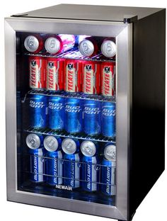 Basement Must Have Item – NewAir AB-850 84-Can Beverage Refrigerator {Review} (& Giveaway Ends 7/7)