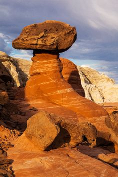 Eternal Balance--The Toadstools Grand Staircase-Escalante National Monument Utah