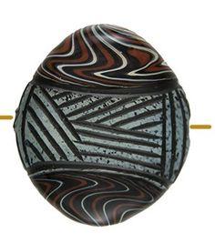 Blown Sculptured Boro Bead